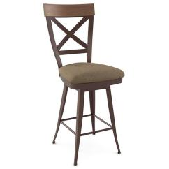 Kitchen Stool Suite Kyle Swivel Stools And Other Amisco Models On Display At Our