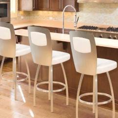 Bar For Kitchen Island Home Depot Calvin Trica Swivel Modern Stool Or