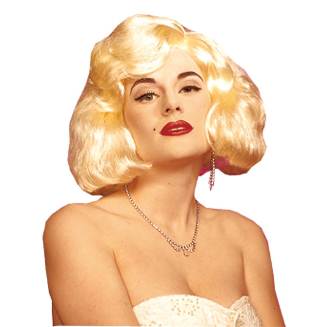Marilyn Monroe Percke Fasching Karneval 1299