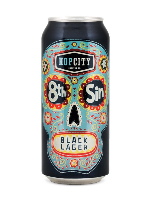 Hop City 8th Sin black lager