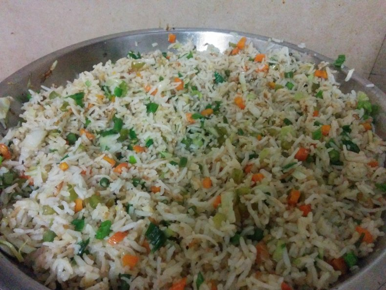 Vegetable Fried Rice | Indo-Chinese Fried Rice Recipe