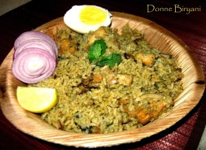 Donne Biryani Recipe