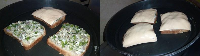 Cheesy Bell Pepper Toast Recipe