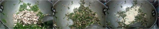 Spinach Mushroom Soya Cutlets
