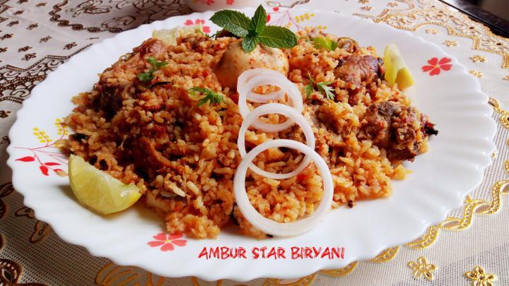 Ambur Star Chicken Biryani