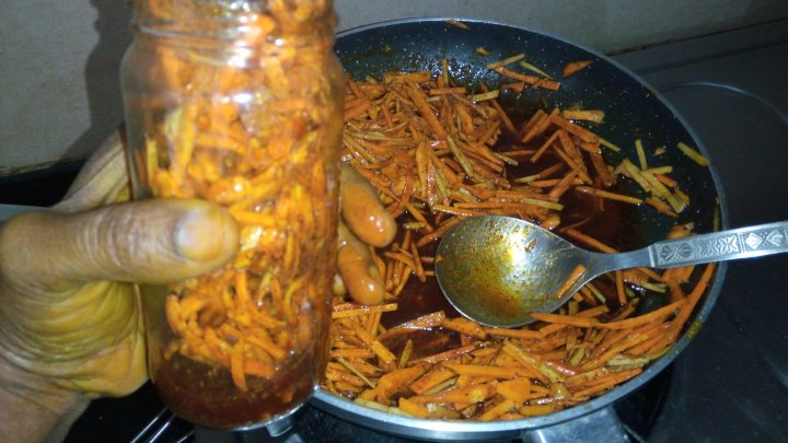 Fresh Turmeric Pickle