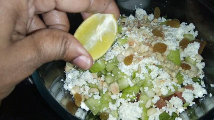 Palak Paneer Salad | Spinach Salad