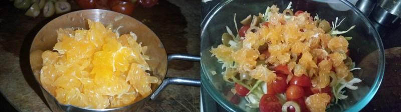Sicilian Cabbage Orange Salad