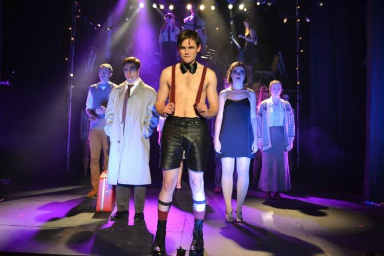 The cast of DULOG's 'Cabaret', which won several awards at the D'Oscars 2015 including Best Musical and Best Actor in a Musical.
