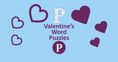 Valentine's Word Puzzles
