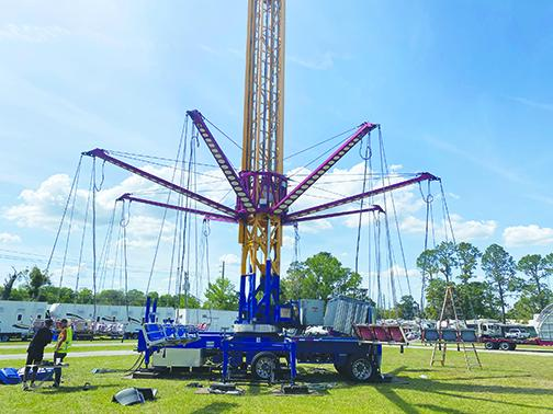 Fair canceled as company assembling rides, attractions | Palatka ...