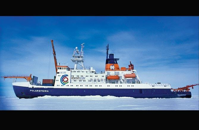 RV Polarstern, the German research icebreaker