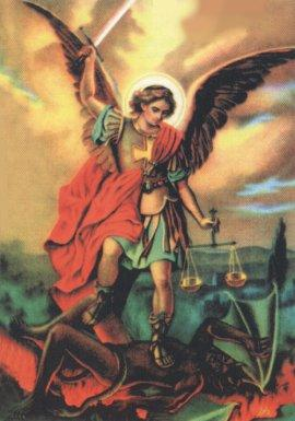 Terço invocando São Miguel Arcanjo