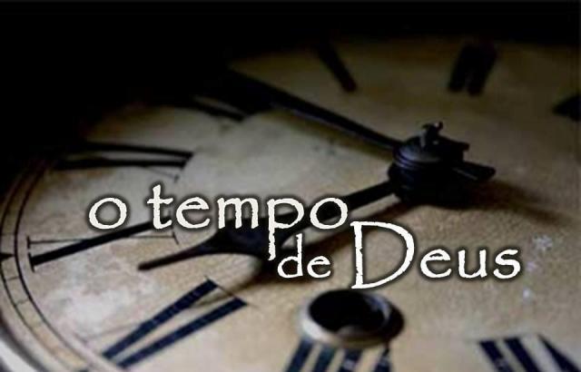 Tero p aprender prestar atenção e entender o tempo de Deus