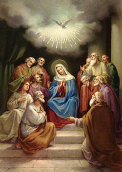 23/04 Nossa Senhora de Pentecostes, rogai por nós!!
