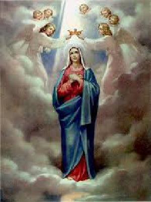 06/05 Nossa Senhora Rainha, rogai por nós!!