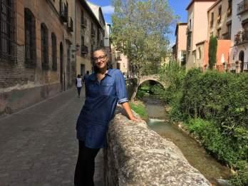 """Carrera del Darro, """"a rua mais linda do mundo"""", segundo Eduardo."""