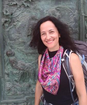 Márcia Intrabartollo é jornalista, peregrina e aprendizde escritora