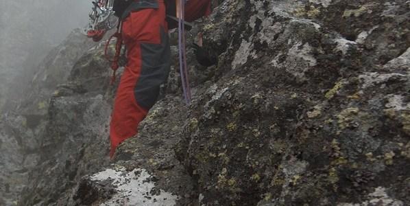 Vysoké Tatry 2006 Zadný Gerlachovský štít, JZ pilí ř  (IV)