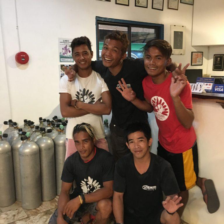 palawan divers crew