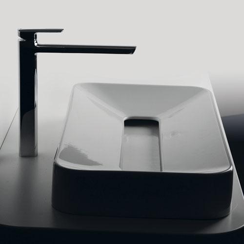 lavandino per bagno lungo e stretto