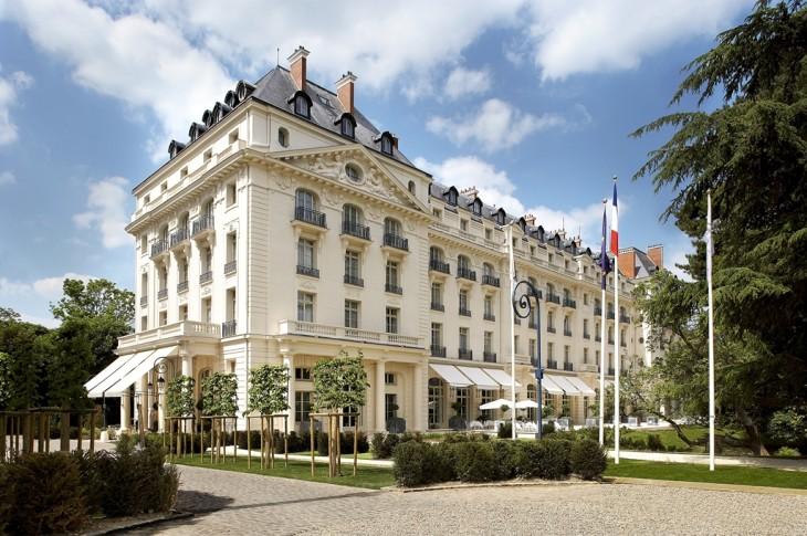 Palazzani hotel trianon palace versaille esterno