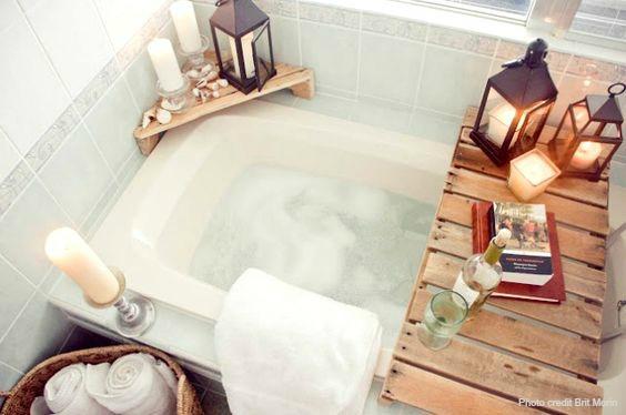 come trasformare il bagno in una SPA