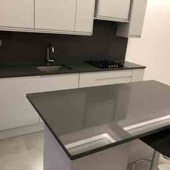 kitchen island dark grey