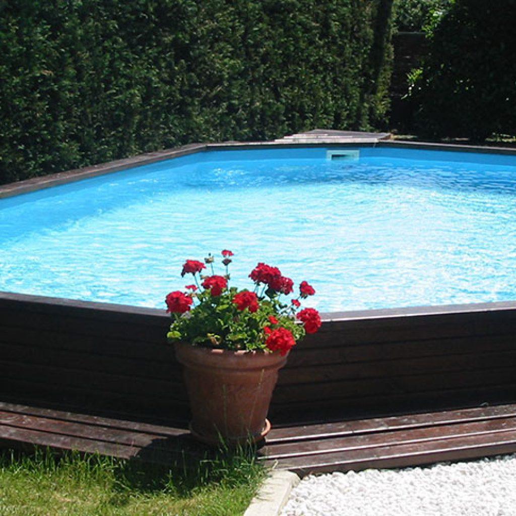 Piscina in legno  Palbo piscine