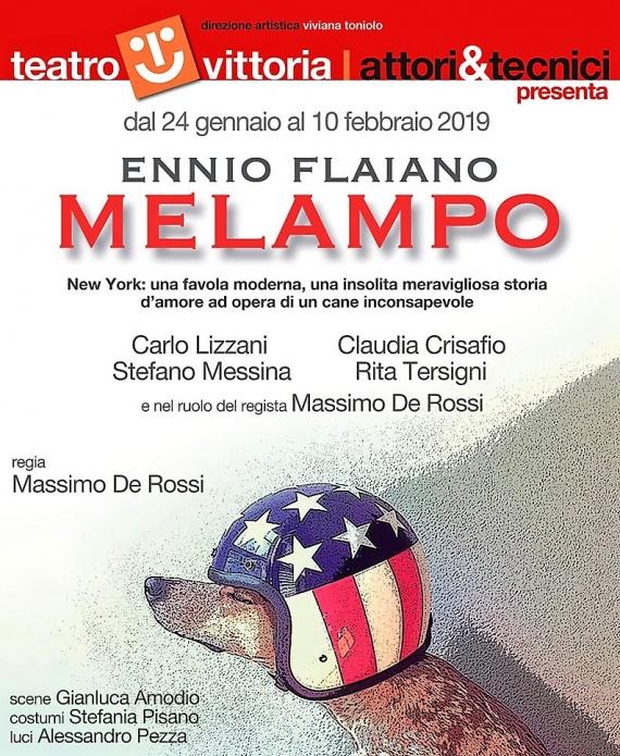 MELAMPO di Ennio Flaiano. Regia di Massimo de Rossi | dal 24 gennaio al 10 febbraio | Roma