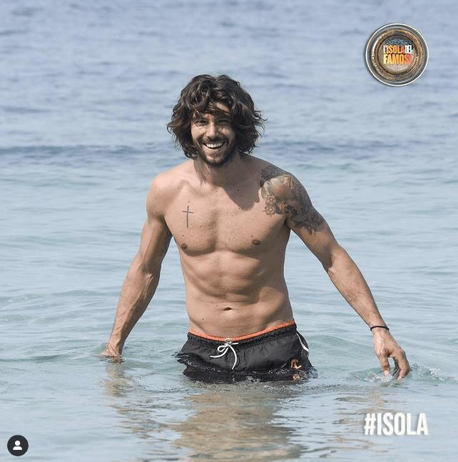 Ignazio Moser, come Poseidone all'Isola dei Famosi