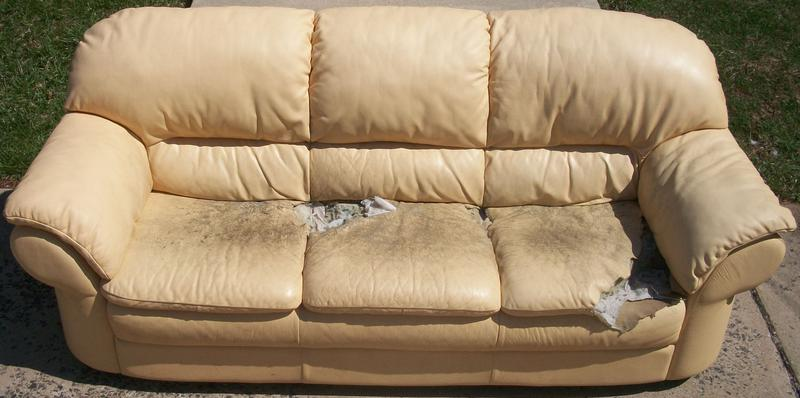 how to repair leather sofa springs furniture legs replacement before after photos