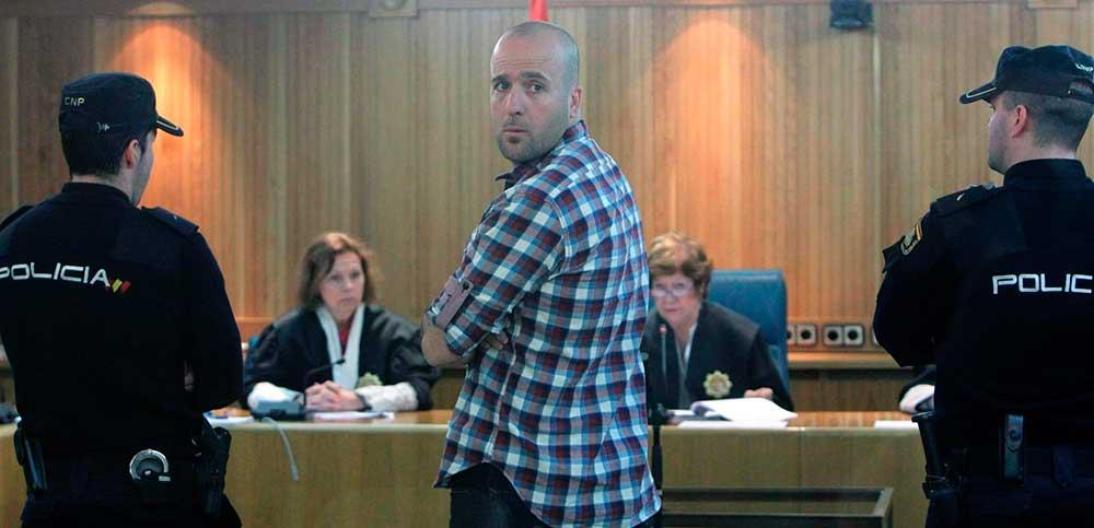 El etarra Jon Kepa Preciado durante un juicio en la Audiencia Nacional