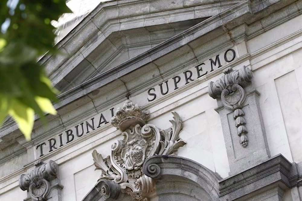 Fachada de la sede del Tribunal Supremo. - EUROPA PRESS