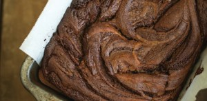 Cinnamon Chocolate Swirl Banana Bread