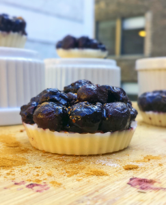 No-Bake Blueberry Pie Energy Bites