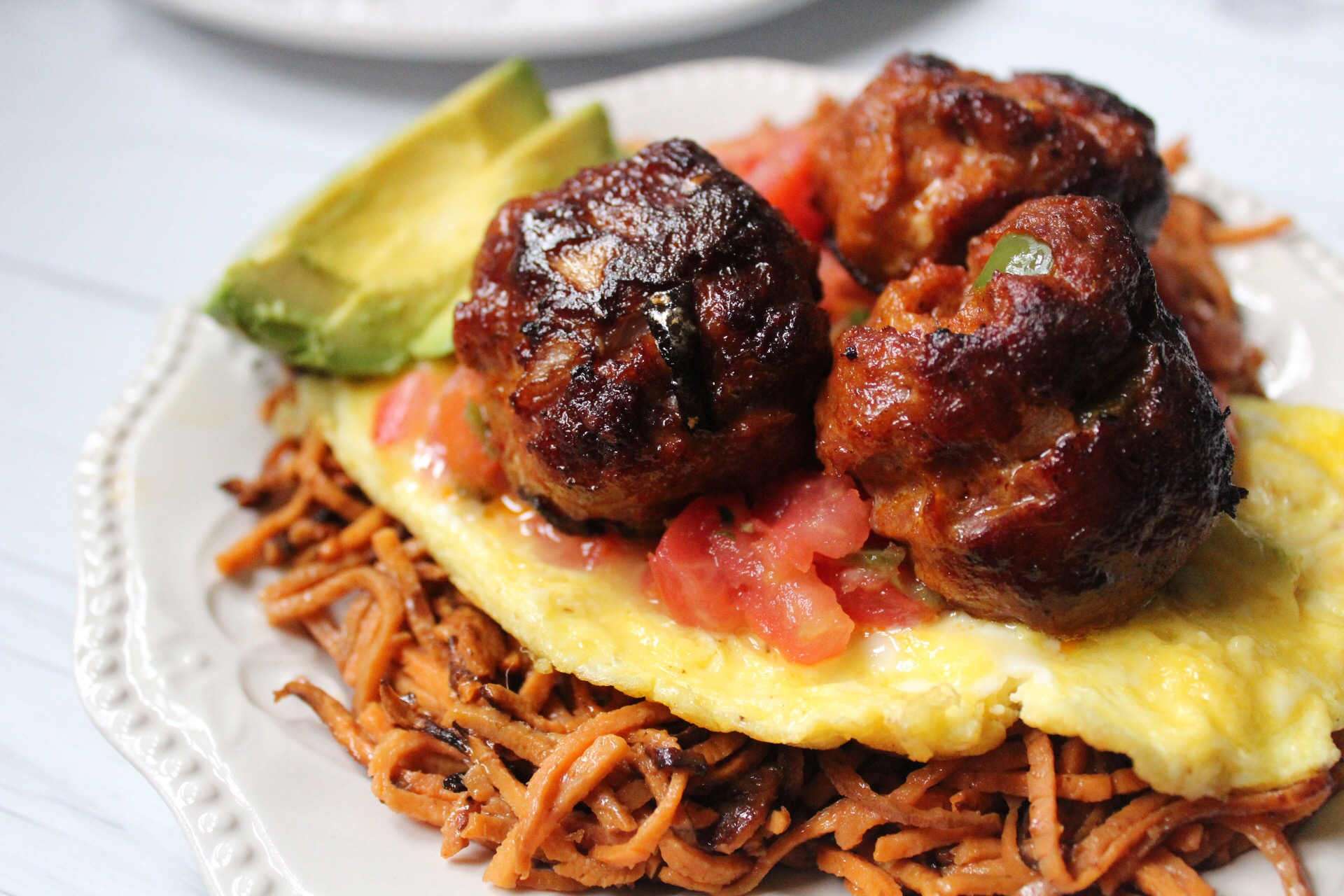 Chorizo Breakfast Meatballs – Paleo and Whole30