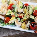 Grilled Caesar Shrimp Skewers: Easy Weeknight Dinner