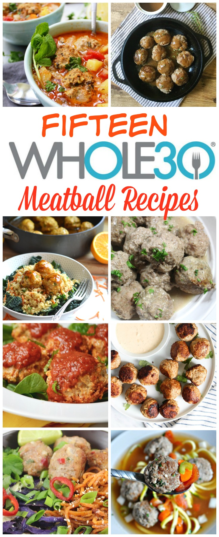 Paleo meatball recipes that are easy to make. These healthy meatball recipes are all perfect for meal prep, family friendly and freezer friendly, and Whole30 compliant! #paleomeatballs #paleodinner #paleobeefrecipes
