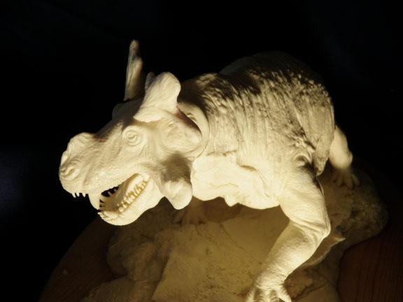 Paleocraft Estemmenosuchus Resin Model