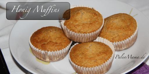 Paleo Honig Muffins