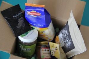 Inhalt vom Paket