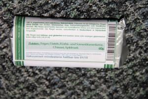 Inhaltsstoffe Paleomio Fruchtriegel