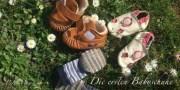Die ersten Babyschuhe: Lauflernschuhe aus weichem Leder