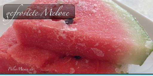 Paleo Wassereis: Gefrostete Melone