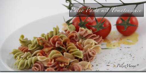 Nudelly´s Paleo Pasta mit Tomatensauce