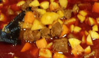 Tunisian Lamb and Quince Stew