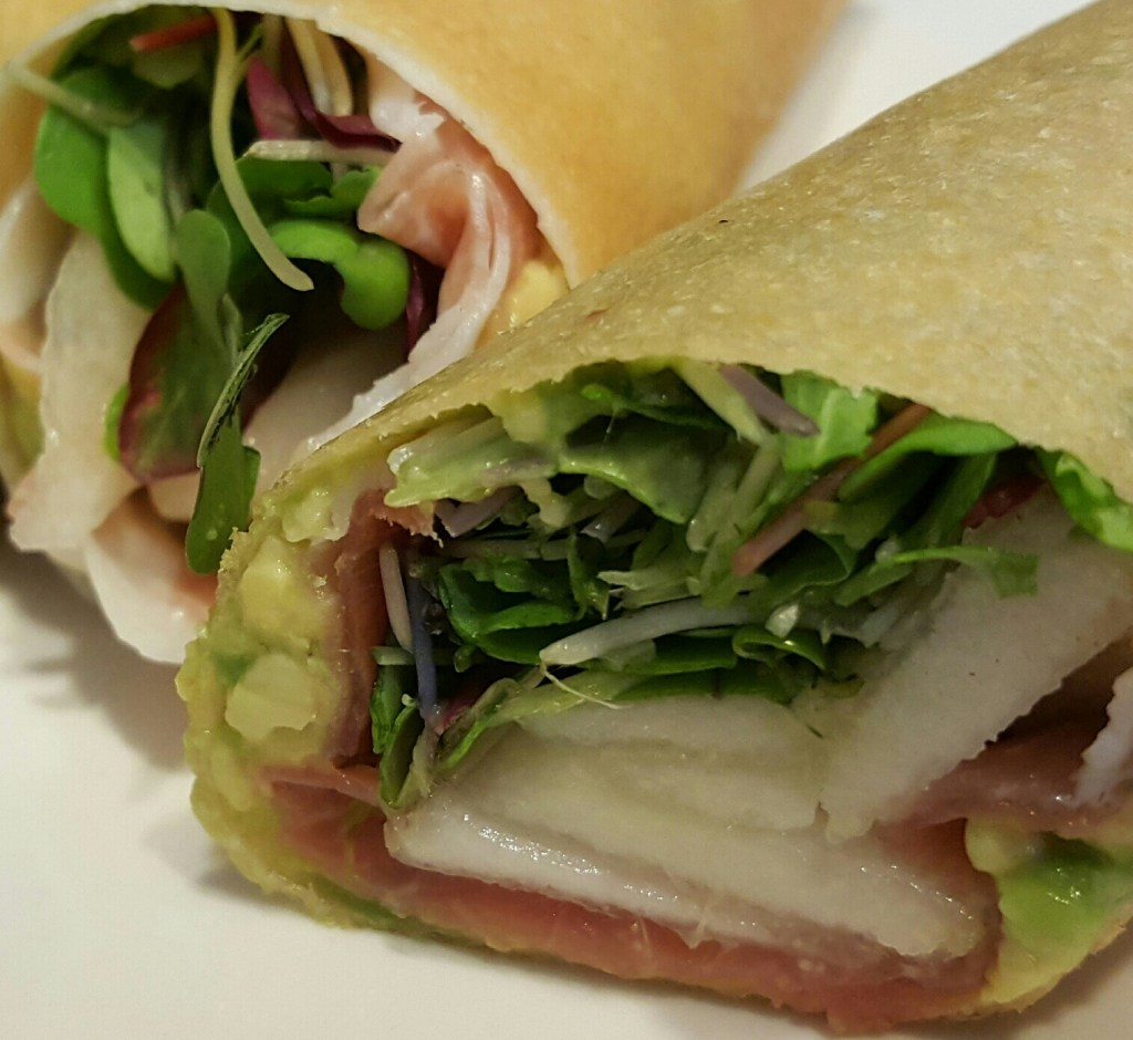 Prosciutto and Pear Paleo Wraps