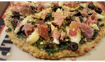 Green Plantain Pizza Crust