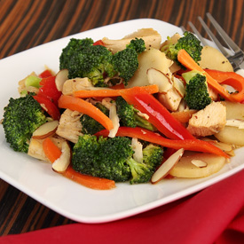 Paleo Chicken & Broccoli Stir-fry